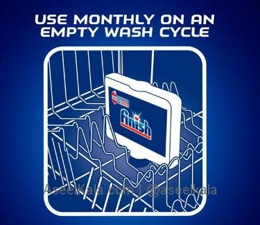 جرم گیر ماشین ظرفشویی فینیش FINISH اصل - ۲۵۰ میلی لیتر