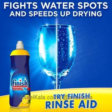مایع جلادهنده ظرفشویی فینیش FINISH اصل - ۸۰۰ میلی لیتر