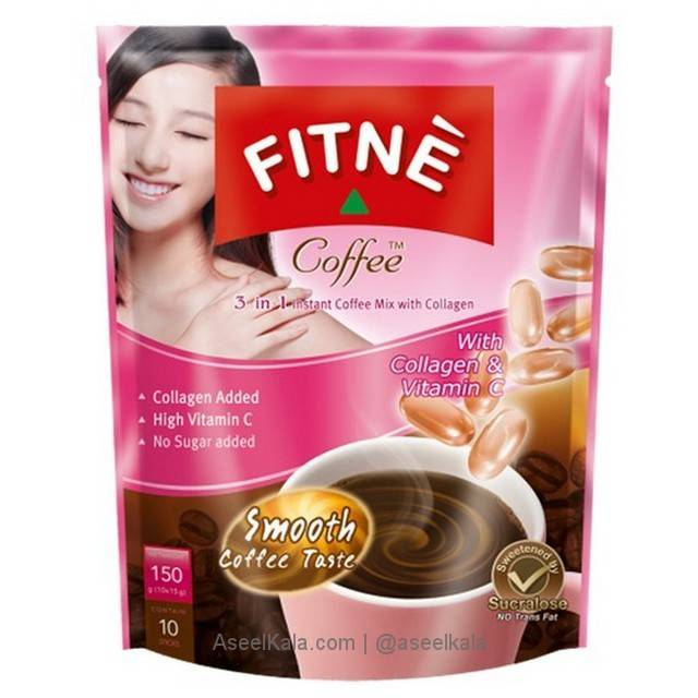کافی میکس زیبایی پوست و اندام FITNE COFFEE